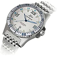 Orologio automatico di lusso Xezo for Unite4:good Air Commando, cristallo zaffiro svizzero, movimento Citizen, 20 ATM. In serie - Pro Xl Compressor