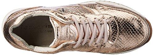 Tamaris 23604, Scarpe da Ginnastica Basse Donna Oro (COPPER STRUCT. 902)
