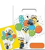 Party Pack Minions - Ich einfach unverbesserlich - 6 Einladungskarten & 6 Partytüten - GKB 00512