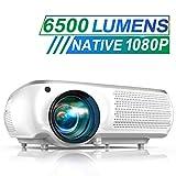 Vidéoprojecteur, TOPTRO 6500 Lum...