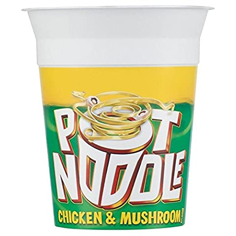 Pot de nouilles au poulet et champignons Flavour (90g) - Paquet de 6