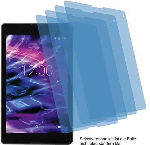 4ProTec 4X ANTIREFLEX matt Schutzfolie für Medion LifeTab P8524 P8513 P8514 Premium Bildschirmschutzfolie Displayschutzfolie Schutzhülle Bildschirmschutz Bildschirmfolie Folie