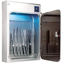 Lacor 39124 - Armario esterilizador de cuchillos ultravioleta 20 unidades
