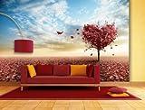 Fototapete Heart Tree - weitere Größen und Materialien wählbar - DEUTSCHE PROFI QUALITÄT von Trendwände