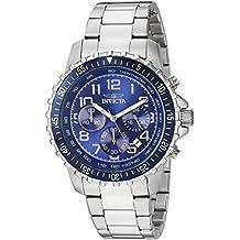 1ef87a9eca87 Invicta 6621 Specialty Reloj para Hombre acero inoxidable Cuarzo Esfera azul