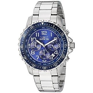 Invicta-6621-Specialty-Herren-Uhr-Edelstahl-Quarz-blauen-Zifferblat
