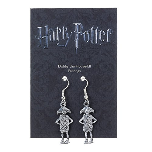 harry-potter-pendientes-dobby-the-house-elf-plateado