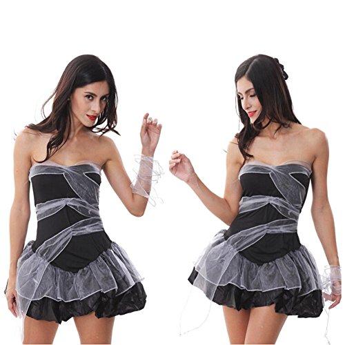 Kostüme Vampir Zombie Geisterbraut Set für Damen / Damen Fancy-Schlauch-Kleid -Juleya
