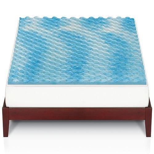 The Big One 11/2-in. Gel Memory Foam Matratzenauflage, Memory-Foam, Swirl, California King (Matratzenauflage Memory-foam-king)
