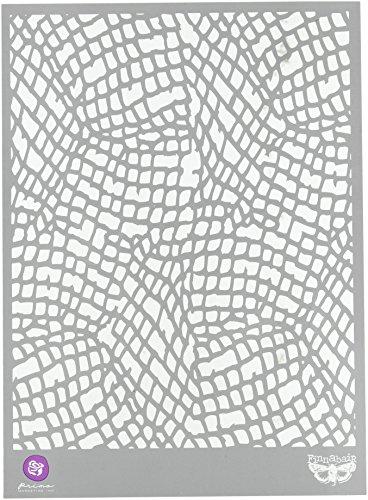 Prima Marketing Finnabair-Stencil, in plastica, 7 x 9 cm, OE-Collant a rete