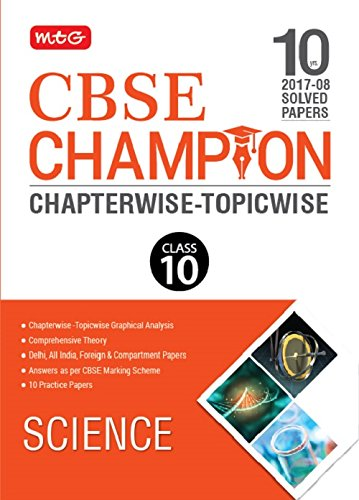 10 Yrs CBSE Champion Chapterwise-Topicwise Science-Class- 10 ...