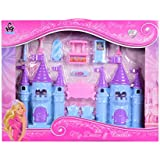 Planet Of Toys Dream Castle Play Set With Furniture For Kids, Children