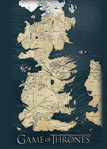 Juego De Tronos - Mapa De Westeros