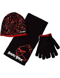 Échantillon et ensemble de gants pour enfants en colère Angry Birds 3pc