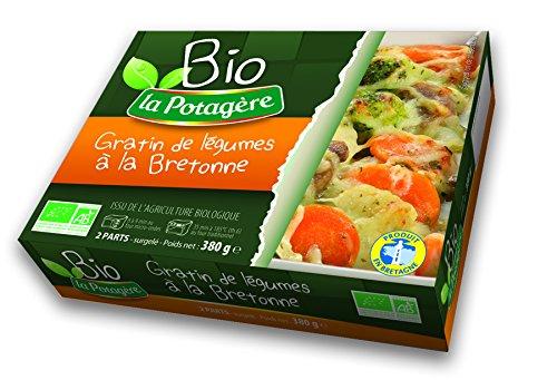 Gratin de légumes à la bretonne BIO - 380 g - Surgelé
