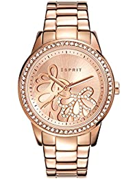 Esprit Damen Armbanduhr klassisch Quarz Edelstahl ES108122006