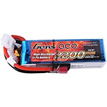 Gens ace Batteria LiPo 2200mAh 11.1V 25C 3S per Elicottero