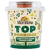 Mornflake Polenta Top mit Gold Lyles Sirup 82G (Packung von 2)