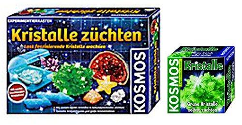 KOSMOS Kristalle züchten + Kristalle grün