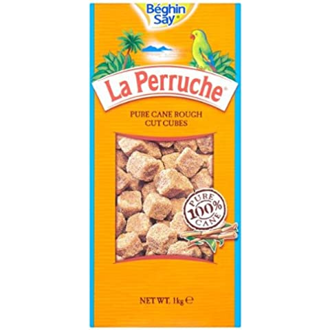 Beghin Say La Perruche Pura Caña Rough Cut Cubos 1kg SUBR1K
