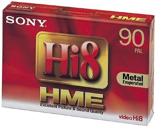 Sony E5-90 HME Hi8-Videokassette (90 min) 2er Pack
