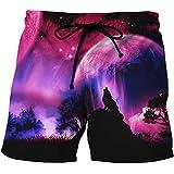 BRILIGHTEN Hombre Pantalones Cortos de Playa Secado Rápido Bañador Estampado Beach Shorts...