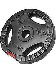 Poids disque en plastique de 2,5 kg avec poignées