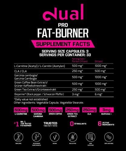 DUAL Pro Fat-Burner