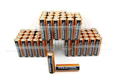 3 x 24 Duracell Industrial Mignon AA Batterien Alkaline 400 MN1500 Sonderpack