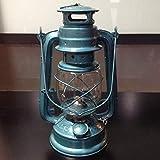 Yksm Tente de camping lumière antique vieille lampe au kérosène lampe de xénon...