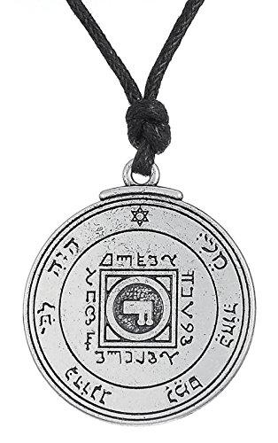 Antike Key of Solomon Ultimate Love Talisman Anhänger Halskette Schmuck für Frauen Herren