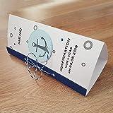 8 personalisierte Menükarten Menü Speisekarten Tischdeko zur Kommunion Konfirmation Firmung Taufe Dreiecksform Anker königsblau 21cm Handarbeit binnbonn