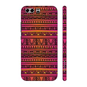 Enthopia Designer Hardshell Case Aztec 21 Back Cover for Huawei P10 Plus