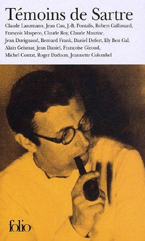 Tmoins de Sartre