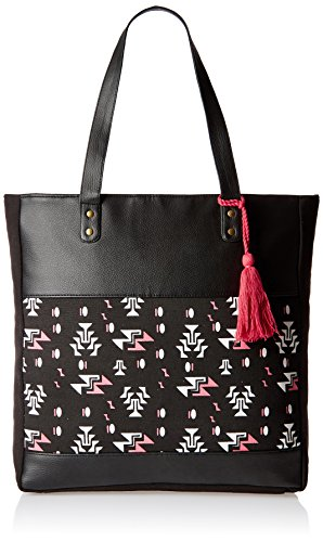 Kanvas Katha Women\'s Handbag (Black) (KKVTT003)