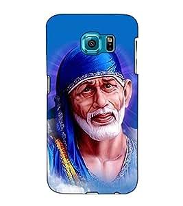 Fuson Designer Back Case Cover for Samsung Galaxy S6 Edge+ :: Samsung Galaxy S6 Edge Plus :: Samsung Galaxy S6 Edge+ G928G :: Samsung Galaxy S6 Edge+ G928F G928T G928A G928I (Shirdi Ke Saibaba theme)