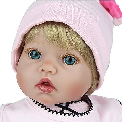 Kaydora 20 inches Silicone Vinyl Reborn Baby Doll Real Fashion