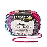 Schachenmayr Merino Extrafine Color 120 9807553-00490 kopenhagen Handstrickgarn, Schurwolle