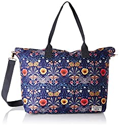 Accessorize Womens Tote Bag (Darks-Multi)