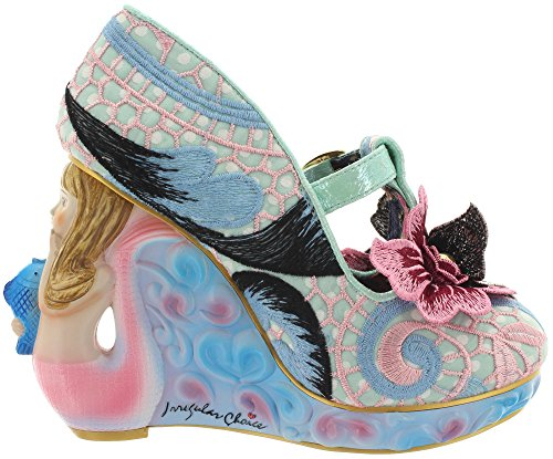 Irregular Choice High Heels AQUATA 4373-01A pink-mint Pink-Mint