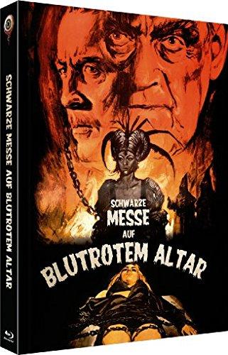 Schwarze Messe auf blutrotem Altar (Die Hexe des Grafen Dracula) - Uncut/3-Disc Limited Collector's Edition No. 4 (Blu-ray & DVD - Limitiert auf 333 Stück, Cover C)