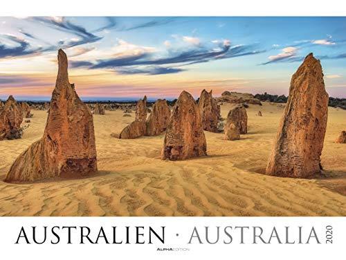 Australien - Kalender 2020 - Alpha Edition-Verlag - Wandkalender mit eindrucksvollen Fotos und Zusatzinformationen - 64 cm x 48 cm