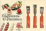 Garnieren und Verzieren-Set: Buch mit Buntmesser, Kugelausstecher und Kanneliermesser von Rudolf Biller (9. Januar 2006) Gebundene Ausgabe