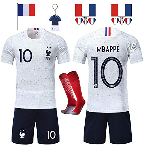 Vêtements De Sport Enfants: Vêtements, Access. Special Section Ensemble Tee Shirt Football Enfant France 2 étoiles Maillot équipe Foot Neuf Reliable Performance