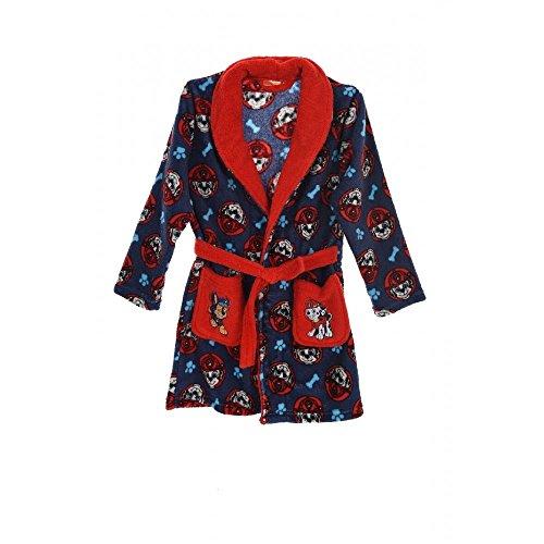 Pat patrouille - Peignoir - Robe de chambre Pat Patrouille rouge et bleu Taille de 3 à 6 ans - 3 ans