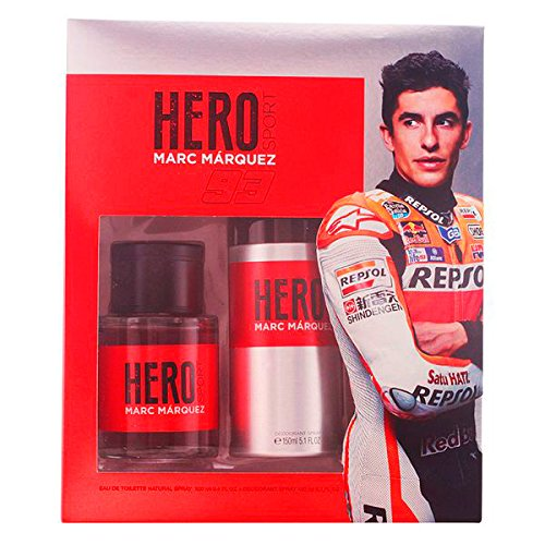 Marc Marquez Hero Set de Agua de Colonia y Desodorante - 250 ml