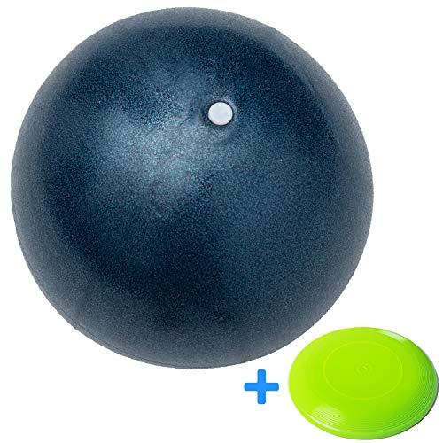 Minis Kreativ Besonders Strapazierfähiger Soft Ball für die ganze Famile - Schadstofffreier Kinder Ball für Innen & Außen - Ø 23cm inkl. Gratis Frisbee -