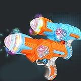 Jouets pour enfants Noël Cadeau Enfants jouet électrique pistolet avec des lumières colorées Projection & Sound enfants allégement jouets Party Favor - couleur aléatoire