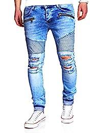 MT Styles Biker Jeans Slim Fit RJ-2078