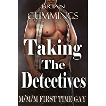 Taking The Detectives, M/M/M First Time Gay (English Edition)